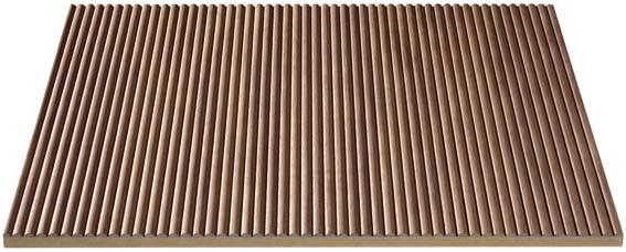 Hts Germany Riva Real Wood Ribbed Panels