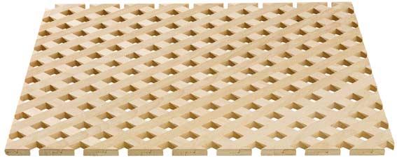 Hts Germany Trentino Solid Wood Lattice
