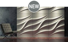 COMO | 3D-Wall panels of gypsum